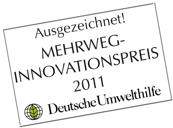 Mehrweg Innovationspreis 2011
